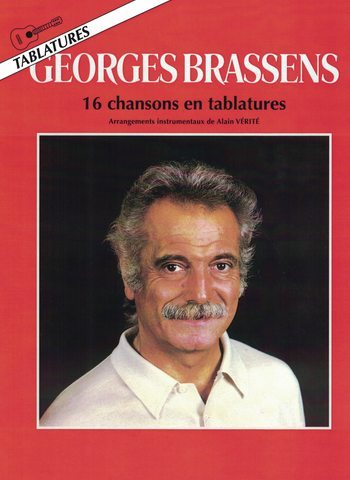 BRASSENS - 16 CHANSONS EN TABLATURES