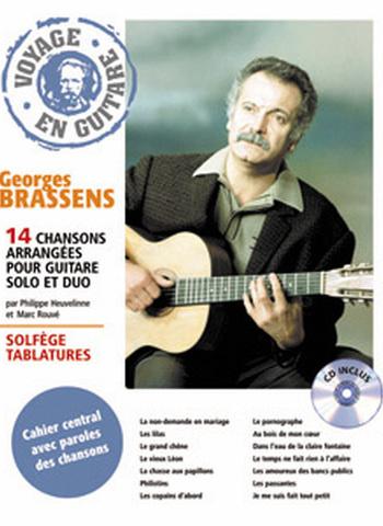GEORGES BRASSENS - VOYAGE EN GUITARE