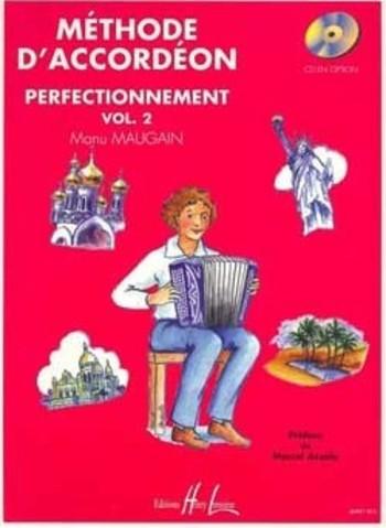 MAUGAIN Manu  Méthode d'accordéon Vol.2