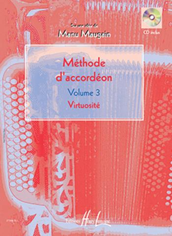 MAUGAIN Manu  Méthode d'accordéon Vol.3