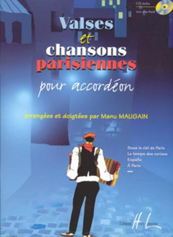 MAUGAIN Manu  Valses et chansons parisiennes
