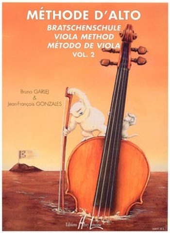 GARLEJ/GONZALES - METHODE D'ALTO VOLUME 2