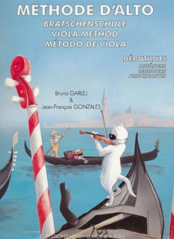 GARLEJ/GONZALES - METHODE D'ALTO VOLUME 1