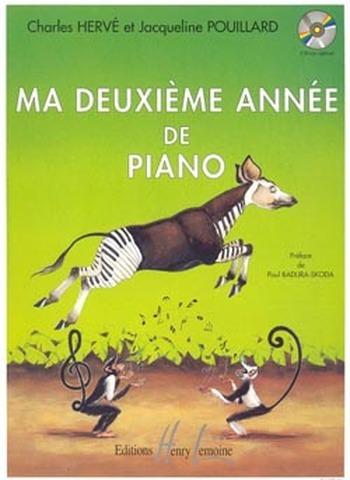 HERVE/POUILLARD - MA DEUXIEME ANNEE DE PIANO