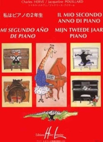 HERVE/POUILLARD - MIJN TWEEDE JAAR PIANO