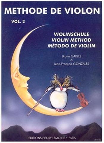 GARLEJ  / GONZALES  Méthode de violon Vol.2