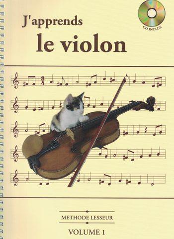 LESSEUR - J'APPRENDS LE VIOLON