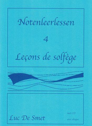 LUC DE SMET - LECONS DE SOLFEGE 4