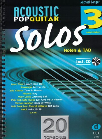 ACOUSTIC POP GUITAR SOLOS - LANGER - 3