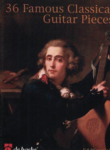 36 FAMOUS CLASSICAL GUITAR PIECES - ED WENNINK - DE HASKE