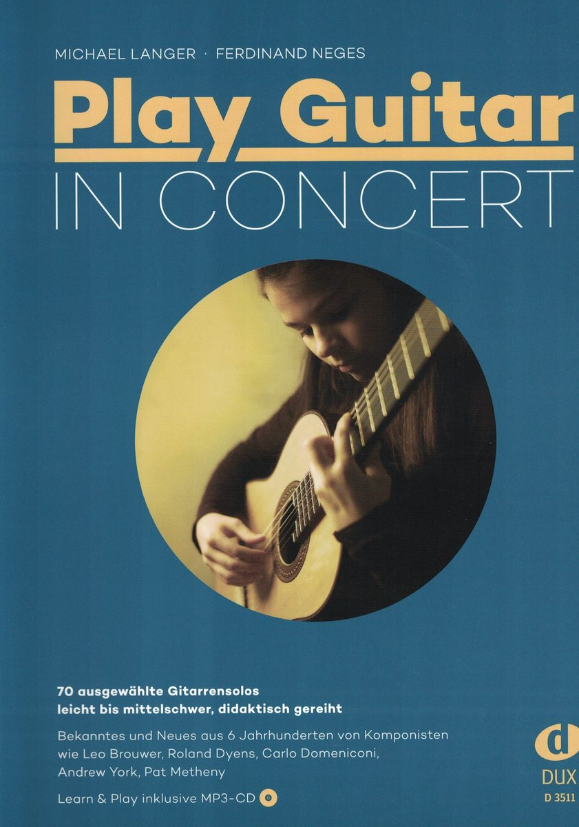 PLAY GUITAR IN CONCERT - LANGER/NEGES - DUX
