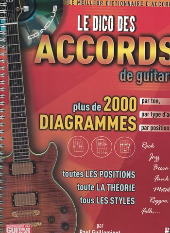 LE DICO DES ACCORDS DE GUITARE - GUILLEMINOT