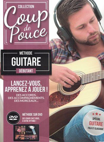 COUP DE POUCE GUITARE - METHODE DEBUTANT - DVD