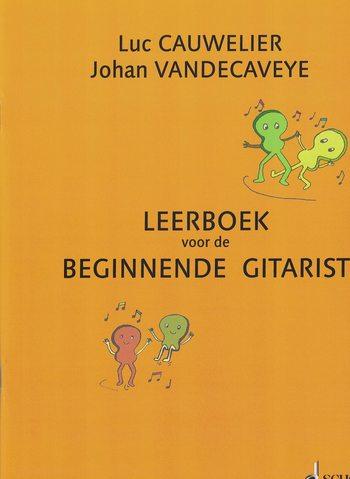 CAUWELIER/VANDECAVEYE - LEERBOEK BEGINNENDE GITARIST