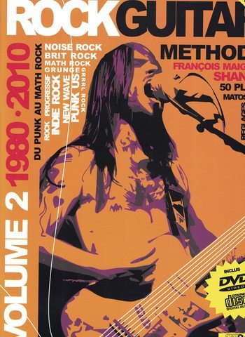 ROCK GUITARE METHODE - SHANKA - REBILLARD