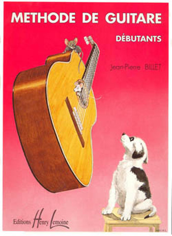 BILLET - METHODE DE GUITARE DEBUTANTS