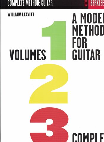 LEAVITT - A MODERN METHOD FOR GUITAR - BERKLEE