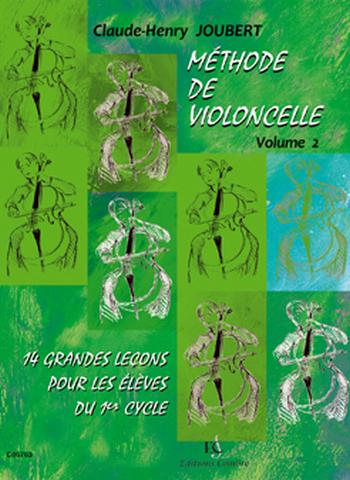 JOUBERT Claude-Henry  Méthode de violoncelle Vol.2 - 14 grandes leçons