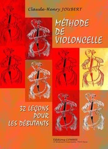 JOUBERT Claude-Henry  Méthode de violoncelle Vol.1 - 32 leçons débutants
