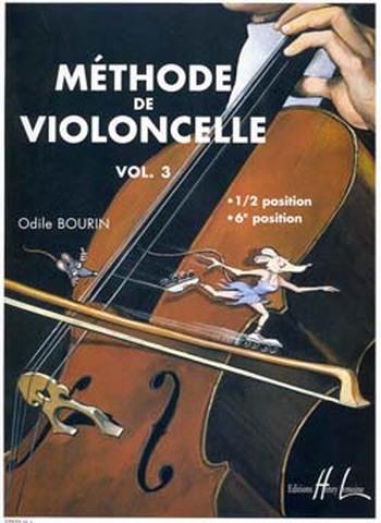 BOURIN Odile  Méthode de violoncelle Vol.3