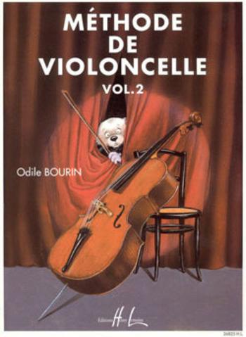 BOURIN Odile  Méthode de violoncelle Vol.2