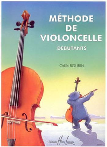 BOURIN Odile  Méthode de violoncelle Vol.1 pour débutants