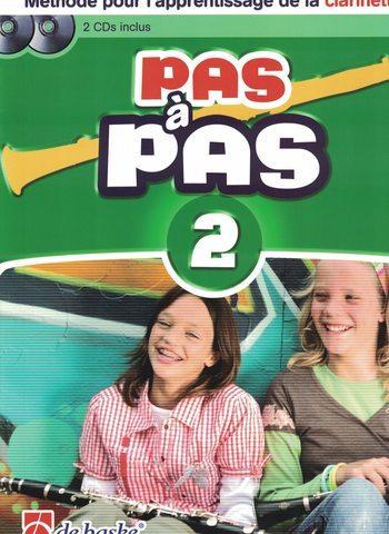 PAS A PAS CLARINETTE - VOL 2