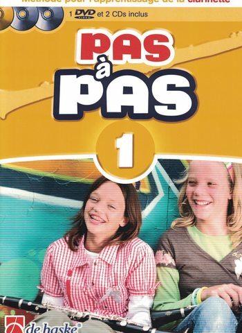 PAS A PAS CLARINETTE - VOL 1