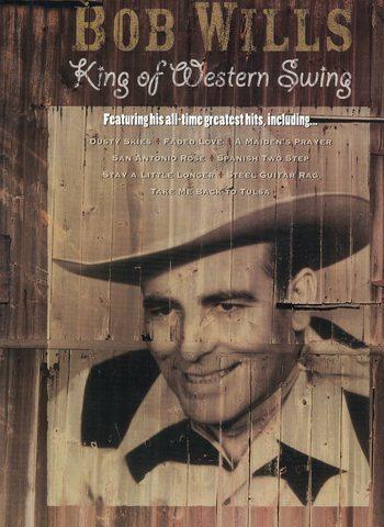 BOB WILLS - KING OF WESTERN SWING  - PVG