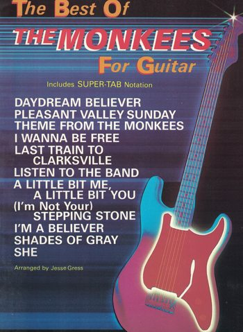 THE BEST OF THE MONKEES FOR GUITAR