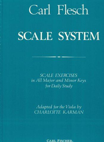 CARL FLESCH - SCALE SYSTEM