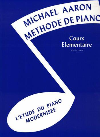 MICHAEL AARON MÉTHODE DE PIANO