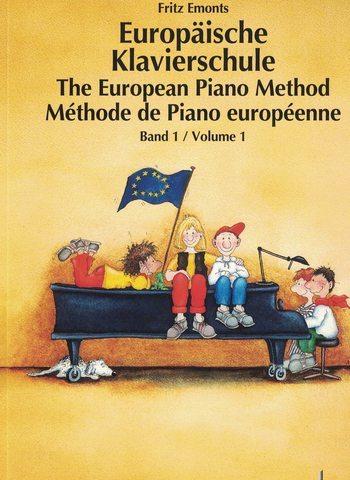 METHODE DE PIANO EUROPEENNE 1