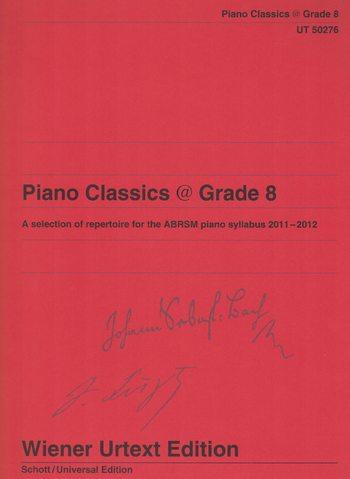 PIANO CLASSICS @ grade 8