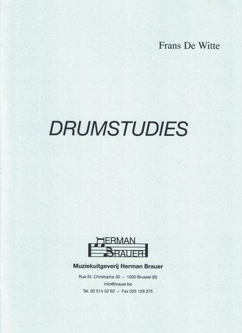 DE WITTE - DRUMSTUDIES