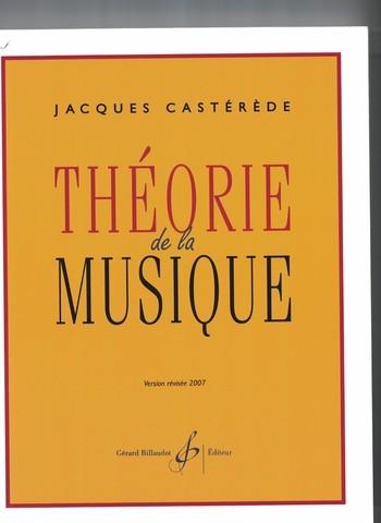 CASTEREDE - THEORIE DE LA MUSIQUE