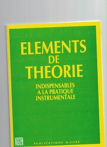 ELEMENTS DE THEORIE