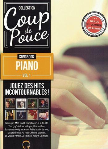 COUP DE POUCE SONGBOOK PIANO VOL 1