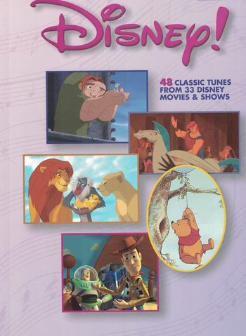 DISNEY ! 48 CLASSIC TUNES easy piano