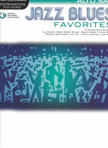 Jazz Blues Favorites alto sax