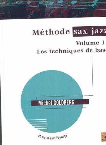 GOLDBERG - METHODE SAX JAZZ