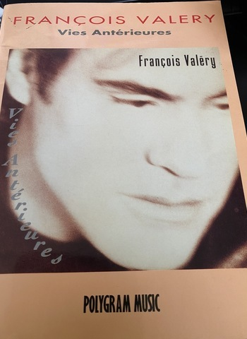 FRANCOIS VALERY - VIES ANTERIEURES