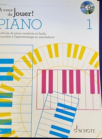 A VOUS DE JOUER PIANO 1