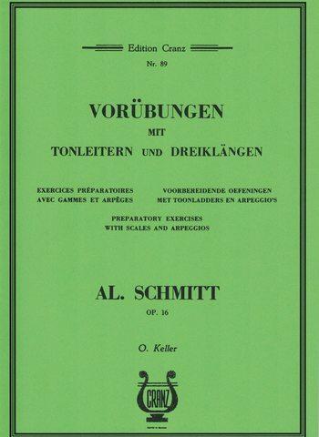 SCHMITT - TOONLADDERS ARPEGGIO'S - OPUS 16
