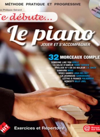 JE DEBUTE LE PIANO