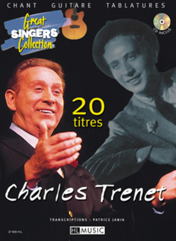 CHARLES TRENET - 20 TITRES CHANT GUITARE TABLATURES