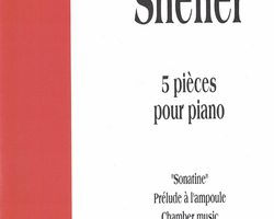 WILLIAM SHELLER - PIANO VOLUME 1