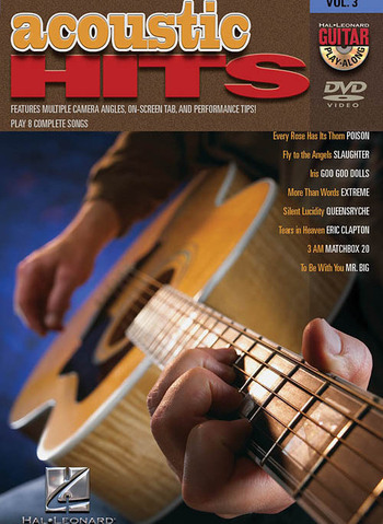 ACOUSTIC HITS - GUITAR PLAY-ALONG