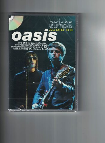 OASIS - PLAY-ALONG GUITAR