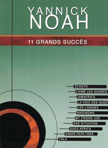 YANNICK NOAH - 11 GRANDS SUCCES